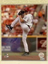 Homer Bailey Signed Cincinnati Reds 8x10 Photo MLBA