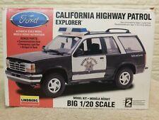 VTG Lindberg California Highway Patrol Model 90's Ford Explorer Open Box