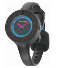 Converse Skinny Black Women's Watch Vr023-001 Analogue Silicon Black