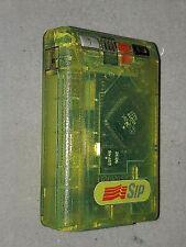 TELEDRIN  SIP - cercapersone Motorola trasparente VERDE FOSFORESCENTE - vintage