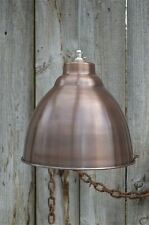 Industrial aged copper ceiling light shade hanging pendant lamp DCSR4