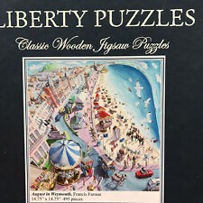 Liberty Classic Wooden Jigsaw Puzzle August in Weymouth 495 Pieces