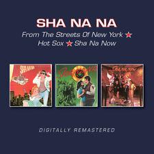 Sha Na Na - From The Streets Of New York / Hot Sox / Sha Na Now [New CD] UK - Im