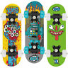 "XOOTZ 17"" Children & Kids Mini Skateboard, Double Kick Maple Fun for Beginners"