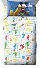 Disney Junior Mickey Mouse Clubhouse Adventure 3 Piece Twin Sheet Set Boys Kids