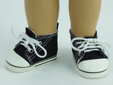 "Black Sneakers - FITS 18"" DOLLS - AMERICAN GIRL DOLL"