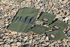 Fishing Package. Canvas Knife roll and 4 x Lure covers. Australian made.