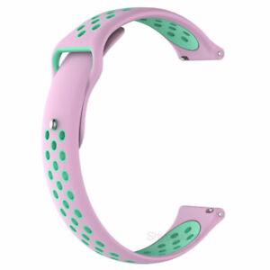 18mm Watch Strap Band Bracelet For Garmin Venu 2S Vivomove Move 3S Vivoactive 4S
