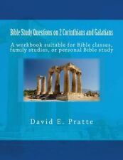 Bible Study Questions on 2 Corinthians and Galatians : A Workbook Suitable...