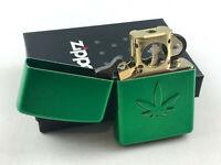 ZIPPO Pfeife Bong pipe lighter Meadow Cannabis - Feuerzeug - 60004300