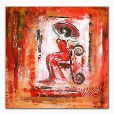 BURGSTALLER ORIGINAL Gemälde Bilder Kunst Malerei Painting Unikat Wandbild POSIN