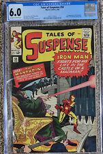 Tales of Suspense #50 1st Mandarin!  CGC 6.0  OW/W