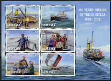 Alderney 2019 MNH Sinking of SS Stella 120 Yrs 6v M/S Boats Ships Stamps