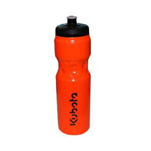 Kubota Branded Orange Soft Squeeze BPA Free Drink Bottle