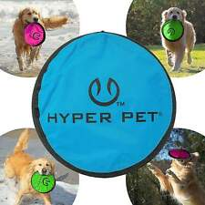 Hyper Pet Flippy Flopper Dog Frisbee Interactive Dog Toys Colors Will Vary