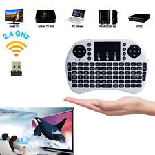 i8 Mini 2.4Ghz Wireless Keyboard Touchpad Remote for PC Smart TV Android Box PS4