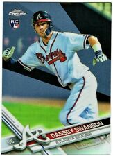 DANSBY SWANSON - 2017 TOPPS CHROME REFRACTOR RC