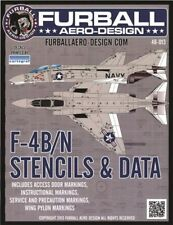 Furball Aero Design 48013 1:48 McDonnell F-4B / N Phantom II FULL Stencil Data