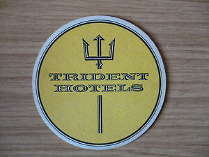 Trident Hotels - 1960's / 1970's Beer Mat