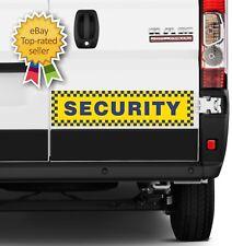 Large Security Magnetic Magnet Sign Sticker VAN CAR PICK UP VEHICLE 150 X 600MM