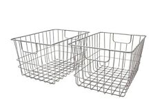 Metal Wire Baskets (Set of 2) by Handcrafted 4 Home