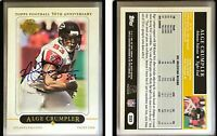 Alge Crumpler Signed 2005 Topps #233 Card Atlanta Falcons Auto Autograph