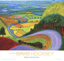 David Hockney-Garrowby Hill-Poster