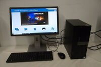 "Dell Optiplex 7040 Intel i7-6700 3.40GHz 8GB DDR4 1TB Wi-Fi DVDRW w/22"" Monitor"