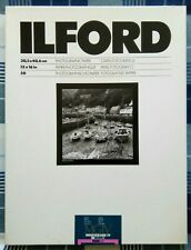 Ilford Multigrade lV RC 12x16in Glossy 50 Sheets Old Stock Unopened