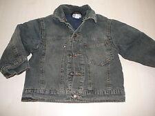 IKKS tolle warme Jeans Jacke Gr. 116 !!