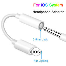 For Apple iPhone 6 7 8 X XS XR 3.5mm Headphone Jack Earphone Aux Adapter Cable