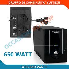Ups 650va Offline - Gruppo di Continuità Vultech