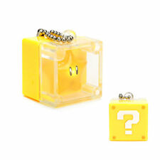 Super Mario 3D Land Light Up Coin Box Keychain - Star
