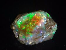 100%Natural Jumbo Play Super Red Fire Ethiopian 11 Ct OpaL Rough LOT  Gemstone