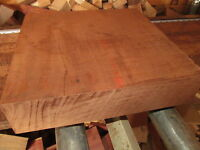 LARGE EXOTIC KILN DRIED AFRICAN MAHOGANY PLATTER BLANKS LUMBER WOOD 12 X 12 X 2""