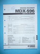 Service Manual für Yamaha MDX-596  ,ORIGINAL