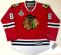 PATRICK KANE 2015 CHICAGO BLACKHAWKS STANLEY CUP REEBOK NHL PREMIER JERSEY