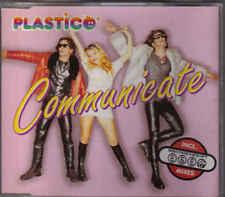Plastico-Communicate cd maxi single eurodance Sweden