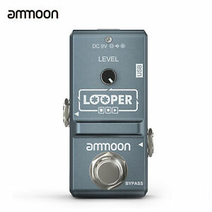 Nano Loop Electric Guitar Effect Pedal Looper True Bypass 10 Minutes Recording