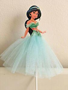 Princess Jasmine themed Cake Topper Girls Kids Birthday Party decoration baking