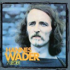 HANNES WADER - 7 LIEDER NEW CD