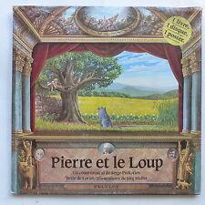 Livre disque Pierre et le loup PROKOFIEV Texte LORIOT Dessin JORG MULLER 0607
