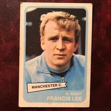 1968/69 A&BC Footballer Set FRANCIS LEE #79 MANCHESTER CITY - VG/VG-EX