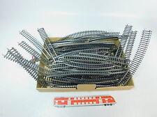 AR755-2# 62x Märklin/Marklin H0/AC K-Gleise/Schienen gute 2.Wahl/Bastler
