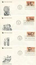 1983 FDC, AMERICAN INVENTORS,  X4 COVER LOT