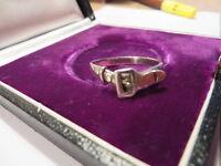 Toller unisex 925 Silber Ring Design Gürtel optik Groß 20,5 cm Sterling