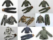 1/6 Scale Uniforms Coveralls Suit of 9 PCSTiger Desert Camo Fit HT B005 Body