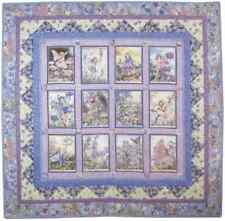 PERIWINKLE FAIRIES Quilt KIT Flower Fairy 3 Fabric Substitutions Free Pattern