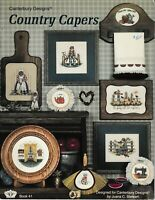 Country Capers Cross Stitch | Canterbury Designs 41