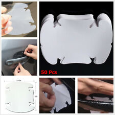 50 x Invisible Clear Car SUV Door Handle Paint Anti Scratch Protector Guard Film